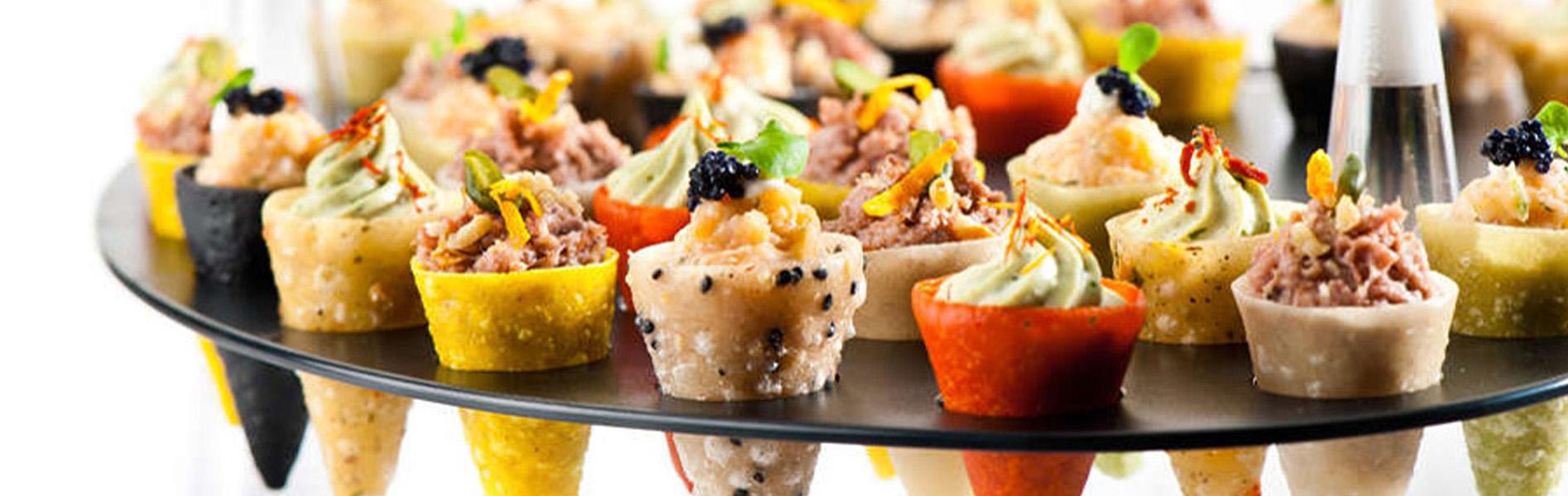 Crispy Cones - Unikorn Catering Fingerfood München