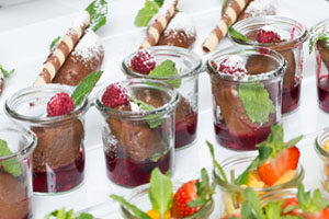 Fingerfood Buffet Unikorn Catering Events Munchen