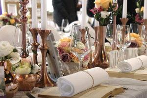 Kerzenständer & Tischdekoration