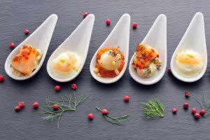 Fingerfoodschälchen & Gourmetlöffel