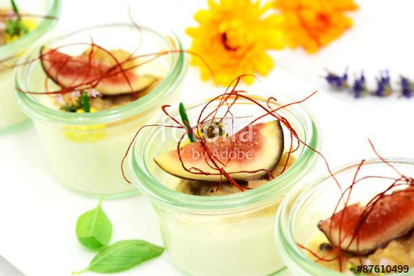 Vorspeise - und Dessertgläschen Unikorn Catering & Events