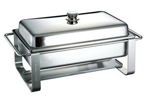 Chafing Dish - mit Brennkerzen