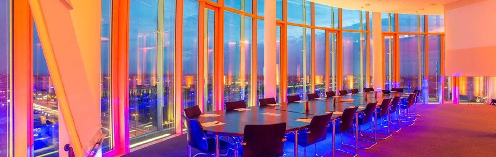 Mercedes Benz Center 360° Panorama Tagungs-und Eventlocation