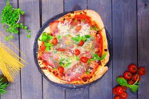 Gebackene Pizza - Pasta & Pizza Foodtruck München