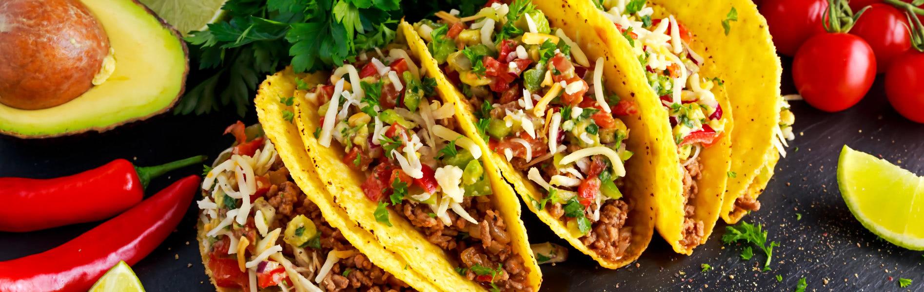 Gefüllte Tacos - Mexican Food Truck München - UNIKORN Catering